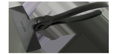 1/pi/èce gris Allit Porte-outils 455127