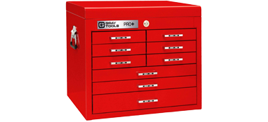 9 Drawer Top Chest - PRO+ Series (Part No. 93109)