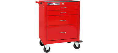 4 Drawer Roller Cabinet - PRO+ Series (Part No. 93204)