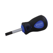 Slotted Screwdrivers - Comfort Handle Stubby
