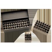 Combination Letter & Number Hand Stamp Sets