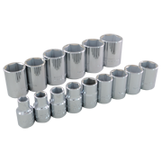 15 Pieces 6 Point Standard SAE Socket Set