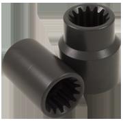 SAE Spline Drive #5 Impact Sockets