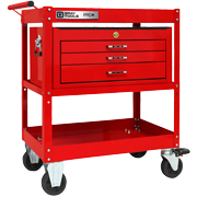 3 Drawer Utility Cart With Intermediate Chest - PRO+ Series (Part No. 93515)