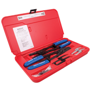 2 Pieces Plier Set Int/Ext With Removable Tips