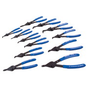 12 Pieces Plier Set - Int/Ext With Fixed Tips