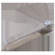 Ignition Feeler Gauge With 16-Blades