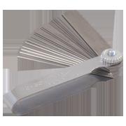 Metric Feeler Gauge With 25-Blades