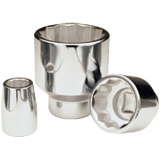 Metric Standard Chrome Sockets 12 PT