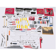 224 Pieces Complete Intermediate SAE Set - Tools Only