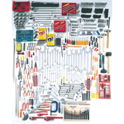 834 Piece Complete SAE & Metric Master Set - Tools Only